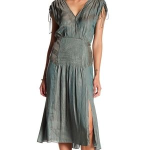 Veronica Beard Flash Pleated Cocktail Dress